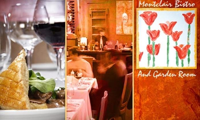 Montclair Bistro - Montclair Business: $18 for $36 Worth of Eclectic Fare at Montclair Bistro