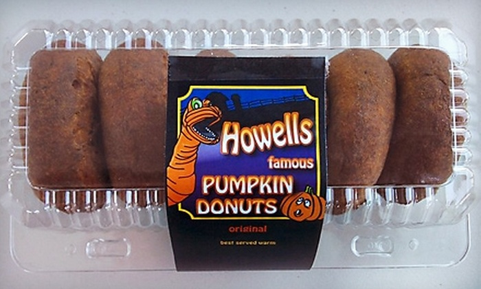 Howell Family Pumpkin Farm - Fonthill: $4 for Two Half-Dozen Packages of Donuts at Howell Family Pumpkin Farm ($9.50 Value)