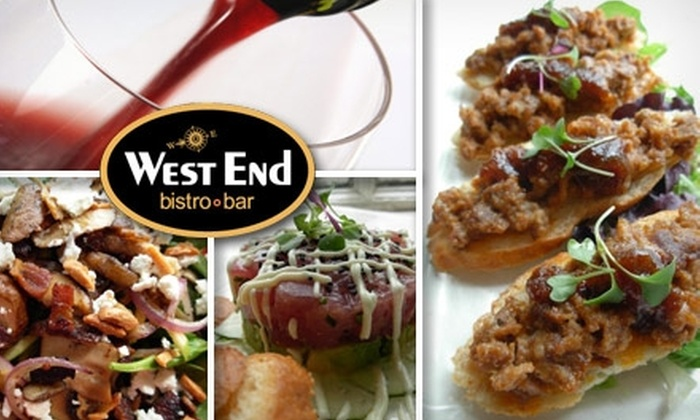 West End Bistro - Chagrin Falls: $20 for $40 Worth of Fine Dining at West End Bistro