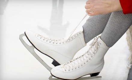 Admission to a 2-Hour Open-Skate Session with Complimentary Skate Rental for 2 People - Hardee's IcePlex in Chesterfield