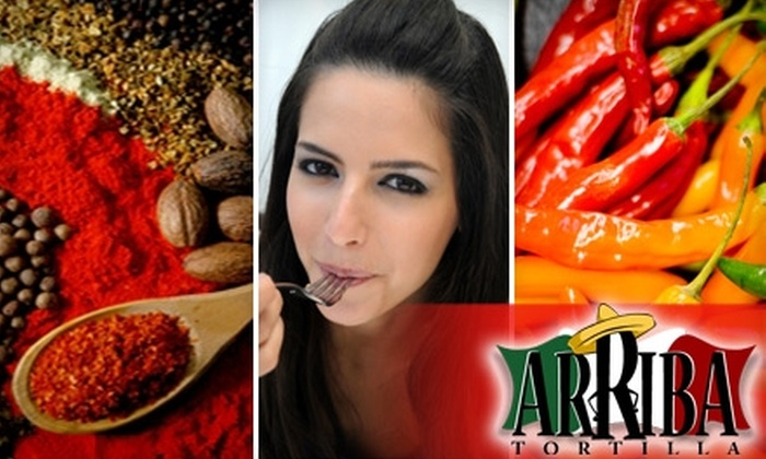 Arriba Tortilla - East Aurora: $10 for $20 Worth of Contemporary Mexican Cuisine and Drinks at Arriba Tortilla