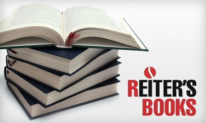 Reiter's Books - Foggy Bottom - GWU - West End: $10 for $20 Worth of Books and More at Reiter's Books