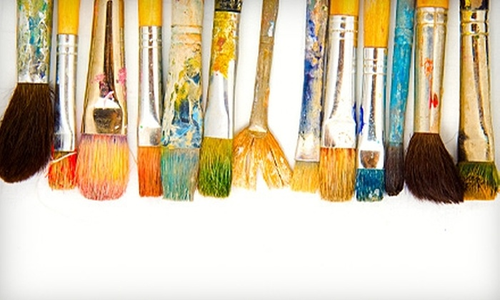 Lascaux Academy - Belmont: $99 for Eight Hours of Drop-In Art Classes at Lascaux Academy in Belmont ($240 Value)
