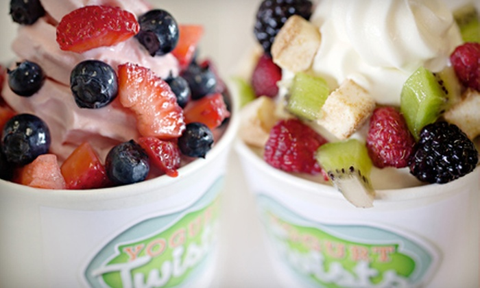 Yogurt Twists - Huntsville: $5 for $10 Worth of Frozen Yogurt and Sorbet at Yogurt Twists