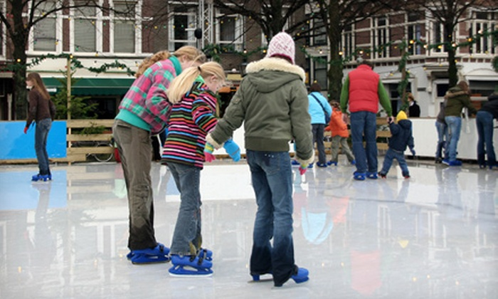 Southlands - Southeast: Ice-Skating Package with Admission and Skate Rental for Two or Four to The Pond at Southlands in Aurora (Up to 55% Off)