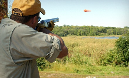 100 Shooting Clays and Lunch for Two - The Minnesota Horse & Hunt Club in Prior Lake