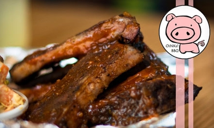 OiNKs! - Montclair: $5 for $10 Worth of Barbecue, Drinks, and More at OiNKs!