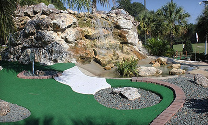 Tree Tops Golf - Ocala: Sports Outing with Mini Golf, Driving Range, and Batting Cages for Two or Four at Tree Tops Golf