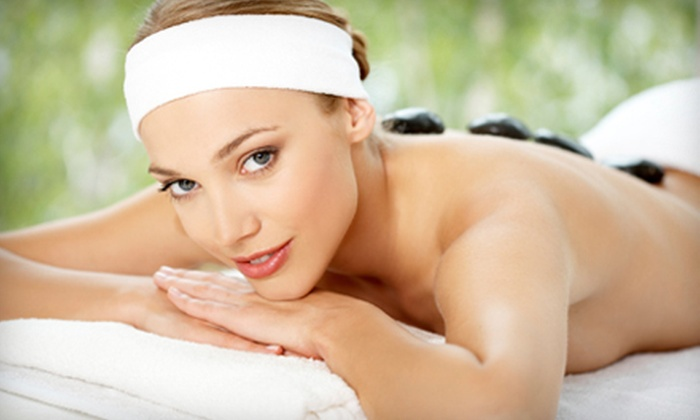 Esthetics by Fay - Downtown: $59 for an Express Facial Package with 40-Minute Hot-Stone Back Massage at Esthetics by Fay ($120 Value)