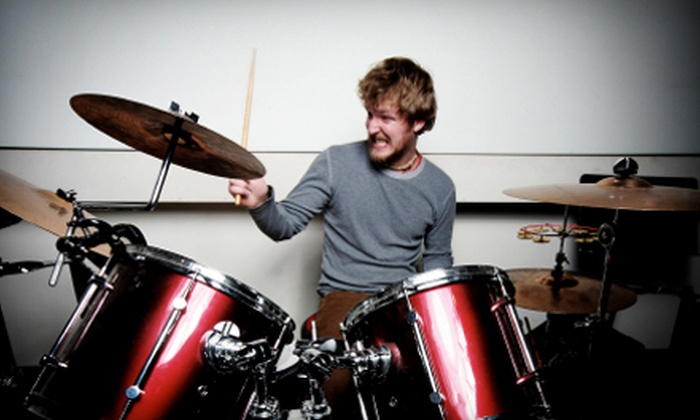 Damm Music - West: $24 for Two Private Drum, Bass, or Guitar Lessons at Damm Music ($48 Value)