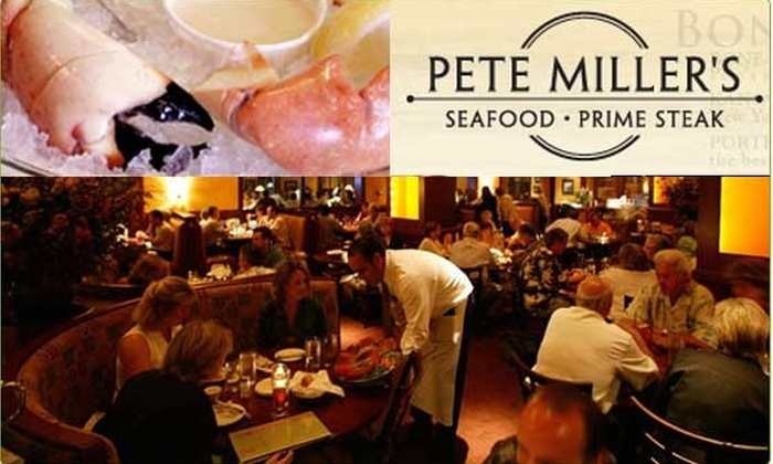 Pete Miller's Steakhouse - Schaumburg: Half-Off at Pete Miller's in Schaumburg