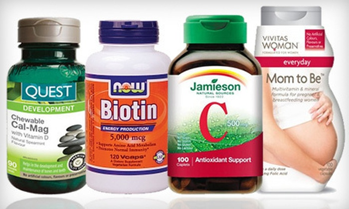 AgeComfort.com: $10 for $20 Worth of Vitamins and Supplements from AgeComfort.com