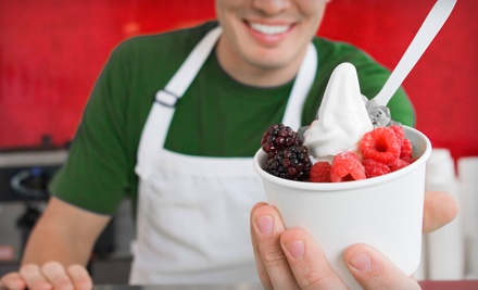$10 Groupon to Bare Berry - Bare Berry Frozen Yogurt in Chicago