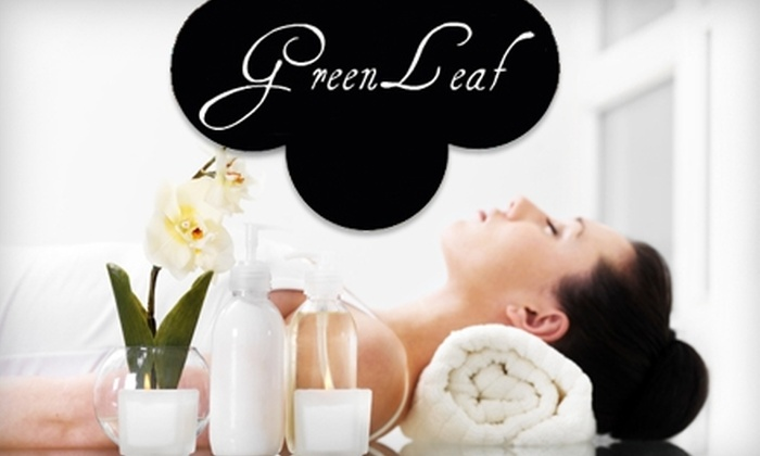 Greenleaf Dayspa - Towles: $35 for a 60-Minute Swedish Massage or Signature Facial at Greenleaf Day Spa (Up to $75 Value)