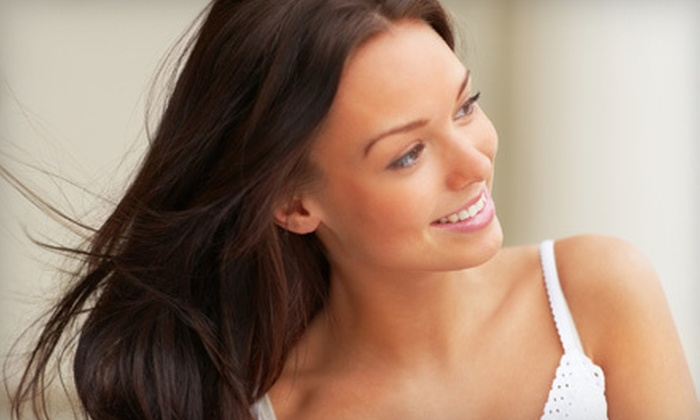 Metro Salons - Multiple Locations: Haircut and Deep Conditioning with Blow-Dry, Partial Highlights, or Full Highlights at Metro Salons (Up to 64% Off)