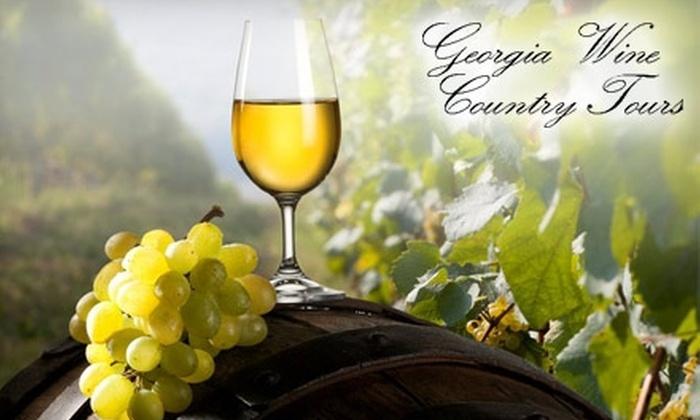 Georgia Wine Country Tours - Alpharetta: $97 for a Tour of Three Wineries with Georgia Wine Country Tours