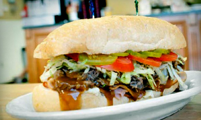 Rocco's New Orleans Style Poboys & Cafe - Prairieville: $7 for $14 Worth of Po Boys and Cajun Fare at Rocco's New Orleans Style Poboys & Cafe