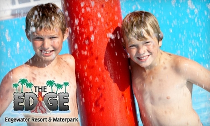 Edgewater Resort and Waterpark Hotel and Conference Center - Congdon: $99 for One Night's Stay, Five Water-Park Passes, and More at Edgewater Resort and Waterpark Hotel and Conference Center ($247 Value)