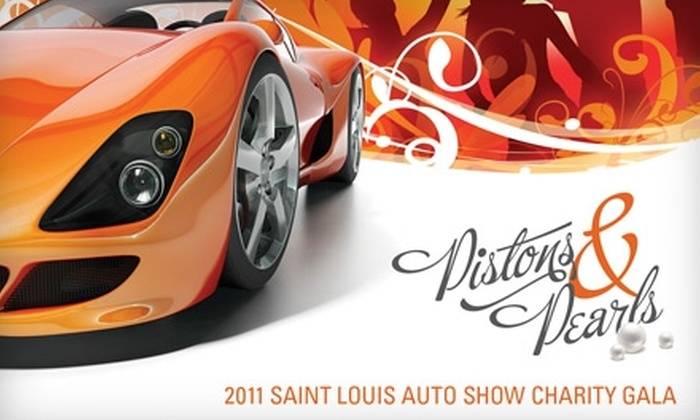 Saint Louis Auto Show Gala - Downtown St. Louis: Up to 40% Off at The Saint Louis Auto Show Gala. Choose From Two Options.