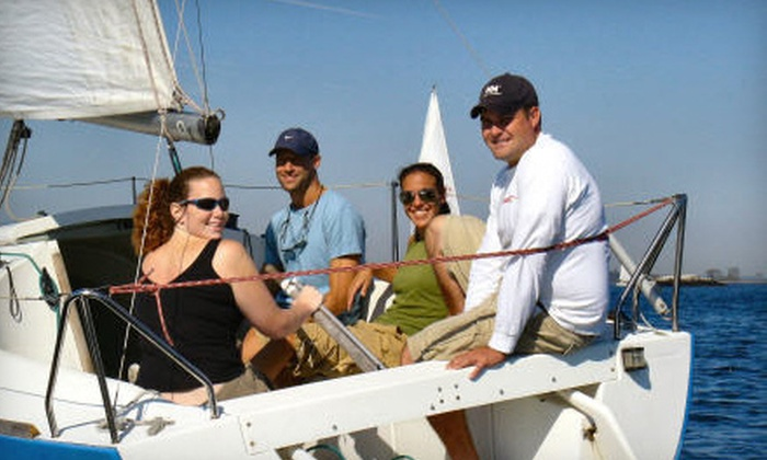 New York Sailing Center & Yacht Club - City Island: $389 for a Private Sailing Lesson for Up To Four People from New York Sailing Center & Yacht Club (Up to $780 Value)