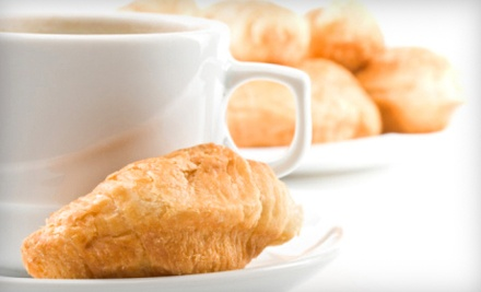 2 Coffee Drinks (up to $5.25 value each), 2 Pastries (up to $3.75 value each) - Rosalia's Family Bakery in LIttle Rock
