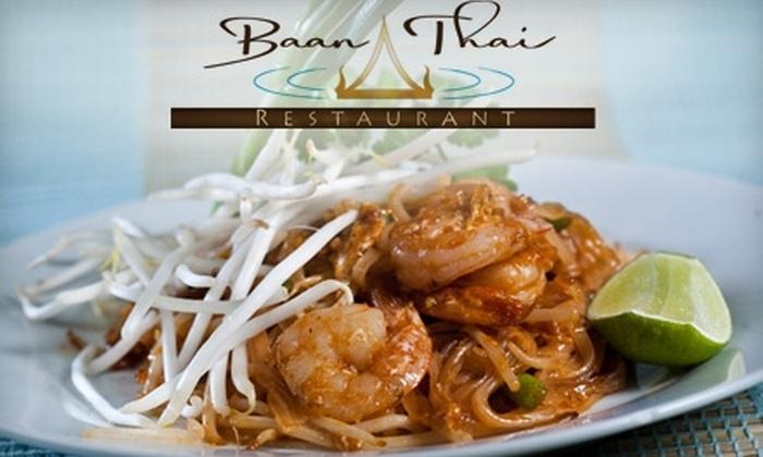 Baan Thai - Eagle: $15 for $30 Worth of Savory Thai Fare and Drinks at Baan Thai