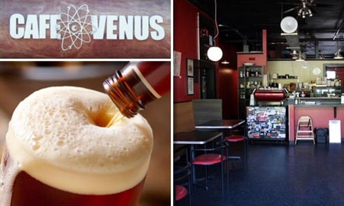 Café Venus and the marsBar - Seattle: $9 for $20 Worth of Veggie-Friendly Food and Refreshing Drinks at Café Venus and the marsBar