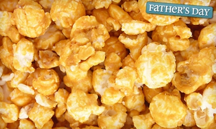 Vic's Corn Popper - Multiple Locations: $15 for $30 Worth of Gourmet Popcorn at Vic's Corn Popper