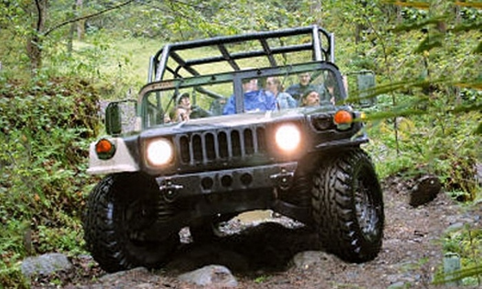 Red River Gorge Off-Road Tour - Campton: Off-Road Hummer Tour for Two, Four, or Six from Red River Gorge Off-Road Tour in Natural Bridge (Up to 66% Off)