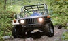 ADVENTURE ZIPLINES - Campton: Off-Road Hummer Tour for Two, Four, or Six from Red River Gorge Off-Road Tour in Natural Bridge (Up to 66% Off)