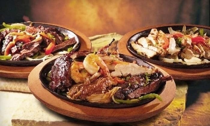 El Chico - Broadmoor, Anderson Island, Shreve Isle: $14 for a Fajita Meal for Two at El Chico ($27.98 Value)