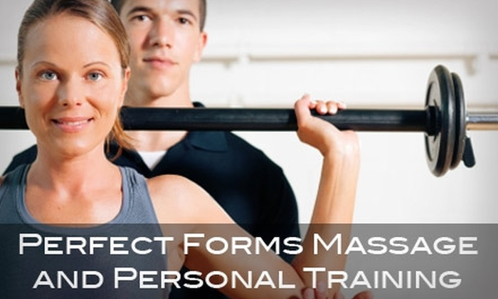 Perfect Forms Massage and Personal Training  - Wake Forest: $35 for Three Half-Hour, One-on-One Fitness Sessions at Perfect Forms Massage and Personal Training