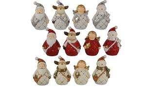 Confezione di 4 soggetti natalizi