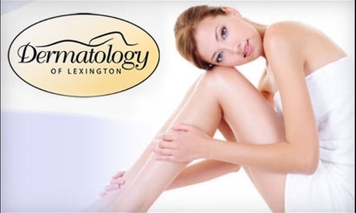 Dermatology of Lexington - Lexington: $120 for Three Laser Hair-Reduction Treatments at Dermatology of Lexington (Up to $900 Value)