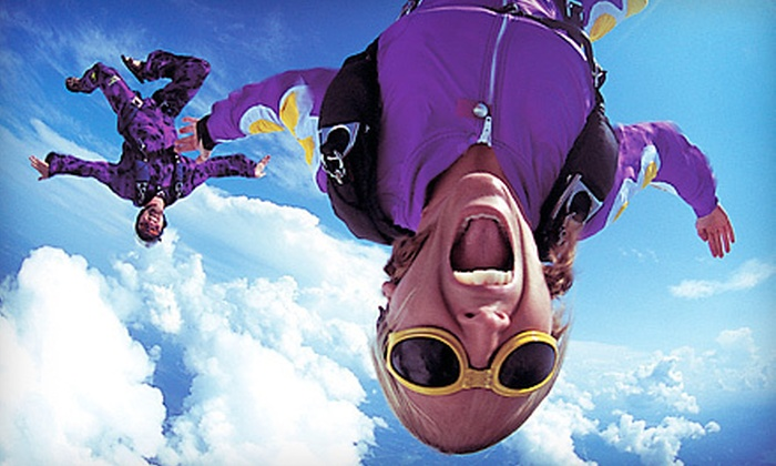 Capital City Skydiving / Bucketlistskydiving.com - Motor City Skydiving: $159 CAN for a Tandem Skydiving Jump and a T-shirt from Capital City Skydiving in Fowlerville (Up to $324 USD Value)