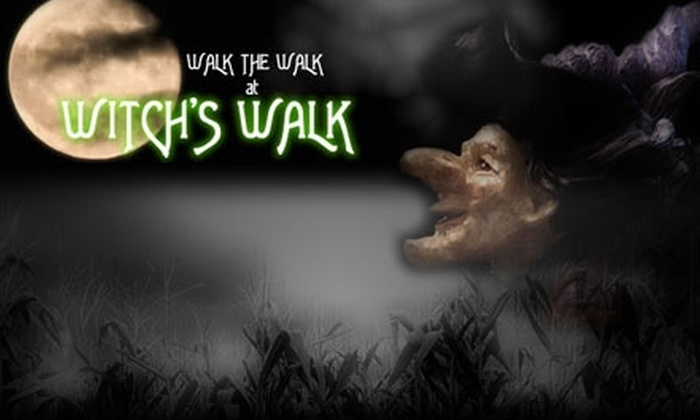 Witch's Walk - Alpine: $10 for Two Tickets to the Haunted Evening Corn Maze at Witch's Walk (Up to $20 Value)