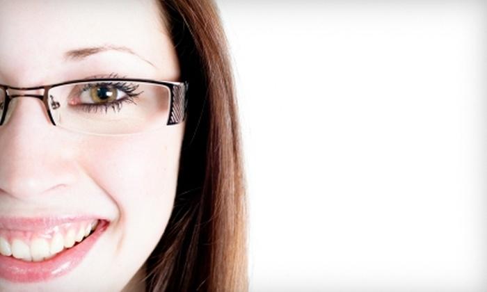 Overland Optical Family Eye Care - Multiple Locations: $50 for $225 Worth of Prescription Frames, Lenses, and Sunglasses at Overland Optical Family Eye Care