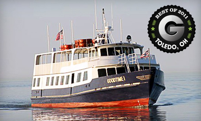 Goodtime Lake Erie Island Cruises - Sandusky: $27 for an Island-Hopping Cruise for Two from Goodtime Lake Erie Island Cruises in Sandusky ($54 Value)