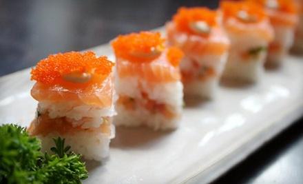 $30 Groupon Toward Dinner - Sakura Japanese Steakhouse in Greenville