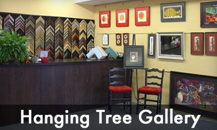 Hanging Tree Gallery & Frame Shoppe - Fairborn: $35 for $75 Worth of Custom-Framing Services from Hanging Tree Gallery & Frame Shoppe
