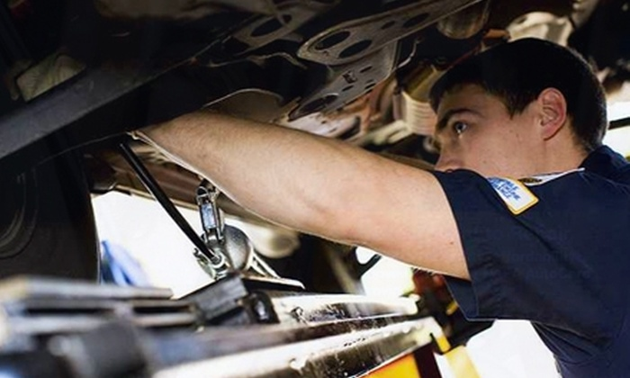 Box Auto and Tire Service Center - North Charleston: $20 for an Oil Change and Tire Rotation at Box Auto and Tire Service Center in North Charleston