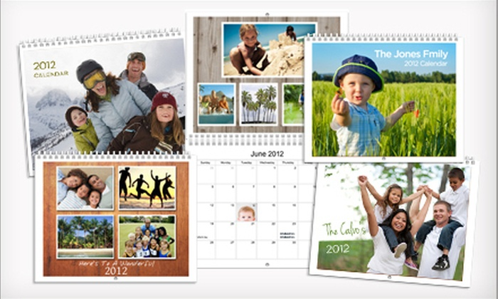 Picaboo: Classic or Premium Personalized Calendar from Picaboo (Up to 57% Off)