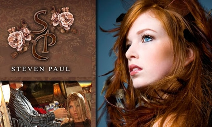 Steven Paul Salon - Downtown Scottsdale: $29 for a Women's Haircut, Shampoo, and Styling With Stylist Ron Baron at Steven Paul Salon (Up to $75 Value)