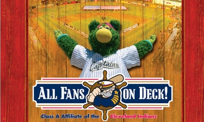Lake County Captains - Eastlake: $19 for Two Box Seats, Two Baseballs, and Two Food Vouchers at a Lake County Captains Game on September 4, 5, or 6 ($38 Value)