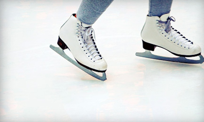 Ice at the Galleria - Uptown: 60-Minute Private Rink Rental Package, or 30-Minute Ice-Skating Class Package at Ice at the Galleria (Up to 51% Off)