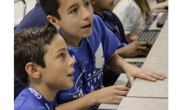 Kids That Code - Cal State University San Bernardino: Four-Hour Day Camp at Kids That Code (45% Off)
