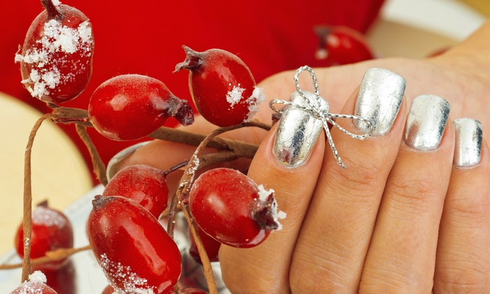 Felicia's Fabulous Nails - City Center: $15 for a Winter Wonderland Manicure with a Paraffin Treatment and Massage at Felicia's Fabulous Nails