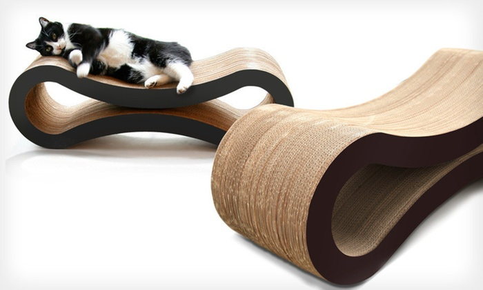 Pet Fusion Cat-Scratcher Lounge: $35.99 for a Pet Fusion Cat-Scratcher Lounge ($99.95 List Price). Two Colors Available. Free Shipping.