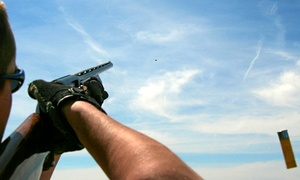 Unlimited Events Limited: Target Medley Axe Throwing, Clay Pigeon Shooting and Archery for Up to Six at Unlimited Events (50% Off)