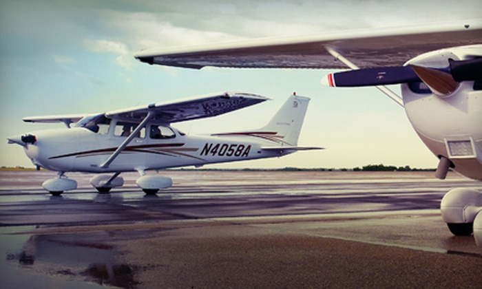 Justice Aviation - Santa Monica Airport: $149 for Flight Experience for Two with Personalized DVD from Justice Aviation ($323 Value)